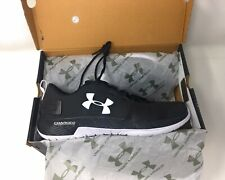 Under Armour Commit TR Men's Running Shoe 11 Black White UA Athletic