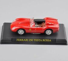 1/43 Diecast Car Model Ferrari 250 TESTA ROSSA Collectible Toy Kids Gift