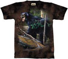 "NEW - The MOUNTAIN T-Shirt ""DA Bear"" Nature and Bear Adult Size XL"