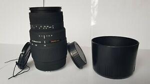 Sigma DG 70-300mm f/4.0-5.6 DG Lens for Canon EF/EF-S Mount.
