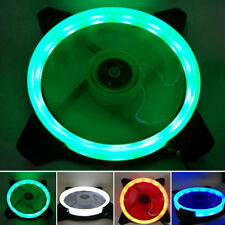 120mm 12cm RGB LED Light CPU Computer Case PC Laptop Cooler Cooling Ring Fan