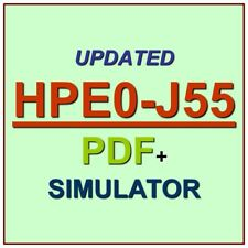 HP Building HPE Storage Solutions Test HPE0-J55 Exam QA SIM PDF+Simulator