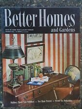 Better Homes & Gardens Magazine  March 1946   VINTAGE ADS