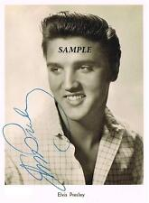 ELVIS PRESLEY #2 REPRINT AUTOGRAPHED SIGNED PICTURE PHOTO 8X10 RP COLLECTIBLE