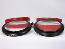 Nos Set Of Factory Angenieux Close Up Diopters For Zoom Lens In Boxes Nice!