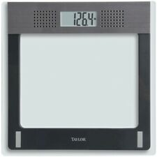 Taylor 70844191M Talking Digital Scale 440 lbs Capacity