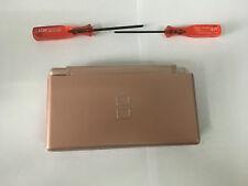 Austausch Ersatz Komplett Gehäuse für Nintendo DS Lite NDSL in Golden Rose