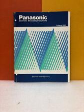 Panasonic Electronic Measuring Instruments On line Monitor VP-3680P Catalog 1984