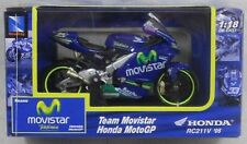 New 67027 New-Ray Honda RC211V (2005) Sete Gibernau Motorcycle 1:18 Die-Cast Toy