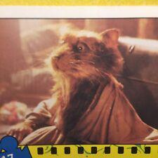Teenage Mutant Ninja Turtle REGINA (1988) LTD Card 17 Master Of The Sewer Den