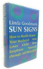 LINDA GOODMAN'S SUN SIGNS 1968 TAPLINGER TRUE FIRST EDITION HCDJ Astrology