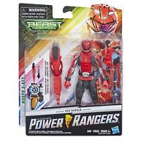 Power Rangers Beast Morphers Red Ranger Action Figure New In Box