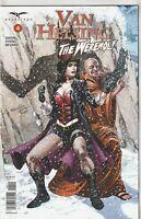 Van Helsing vs. The Werewolf #4 NM- 9.2 Cover A Zenescope