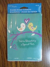 Bridal Shower Invitations/Envelopes~Pack of 8~Tender Thoughts/AGC~Brand New!