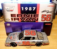 1:24 ERNIE IRVAN #56 NASCAR ACTION DALE EARNHARDT 1987 silver monte carlo CWC