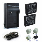 DMW-BCF10E Battery / Charger for Panasonic Lumix DMC-FT1 DMC-FT2 DMC-FT3 DMC-FT4