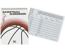 Champion Sports Basketball Scorebook Stats Spiral Bound 30 Games