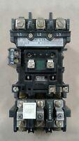 Allen-Bradley 509-A0A Starter/Contactor Size 0 18A 1-5 Pole 600V Ser. B #1078KW