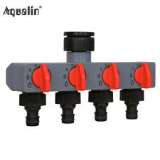 Garden/Yard Four-Way Out Water Distributor Valves Tap/Hose Pipe Fittings