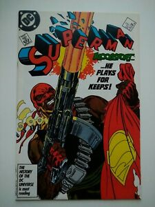 Superman #4 - first appearance Bloodsport - new Suicide Squad movie - Byrne art
