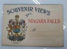 Vintage Postcard Folder Souvenir Views of Niagara Falls