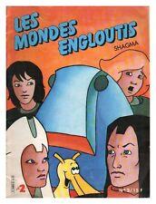 LES MONDES ENGLOUTIS N° 2 BIMESTRIEL  1986 BE
