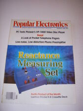 Popular Electronics Magazine, March 1981, Pocket Telephone Pagers, Video Disc!