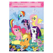 MY LITTLE PONY LOOT PARTY BAGS NEW DESIGN 8PK BIRTHDAY FAVOUR LOLLY GIFT TREAT