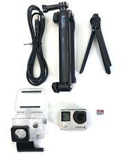 GoPro HERO 4 Black Edition 4K 1080P Camera Camcorder w 32gb SD Go Pro Stick