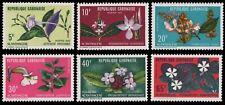 Gabun 1972 - Mi-Nr. 464-469 ** - MNH - Blumen / Flowers
