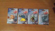 Disney Finding Nemo Set of 4 Figurines Dory Nemo Crush Bruce Figures NIP