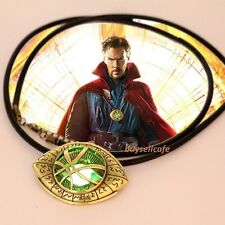Dr Doctor Strange The Eye of AgaMotto GLOW in the DARK Pendant Necklace Amulet