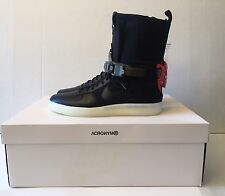 NIKE AF1 DOWNTOWN HI SP ACRONYM BLACK AIR FORCE 1 NIKELAB 649941 006 sz 10.5