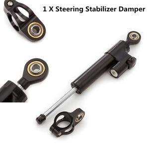 Motorcycle CNC Aluminum Steering Damper Stabilizer For Kawasaki Honda BMW Yamaha