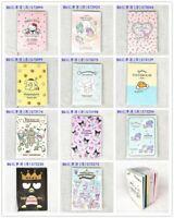 JAPAN MADE SANRIO KITTY MELODY TWIN STAR XO B6 2021 SCHEDULE BOOK THIN DIARY