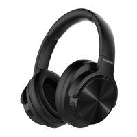 Mixcder E9 Casque Bluetooth à Réduction de Bruit Active Circum Écouteurs ANC CSR