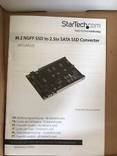 StarTech.com M.2 SSD to 2.5in SATA Adapter - M.2 NGFF to SATA Converter - ...