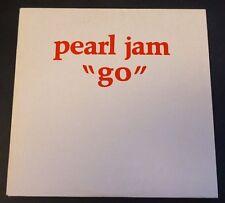 Single CD PEARL JAM - GO - Promotional copy - SAMPCD 1956 - NM