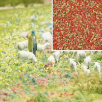 Busch 7357 NEW MICRO FLOCK SUMMER FLOWERS