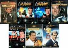 Roger Moore DVD Collection James Bond 007 All 7 Movie Films Brand New UK R2