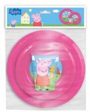 Mobiliario y decoración infantil de cocina y comedor de Peppa Pig