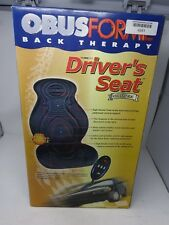 Obusforme Drivers Seat Obus 91 Back Therapy Car Massage & Heated Seat