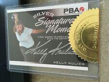 2007 PBA Bowling Signature Moments Silver Autograph Kelly Kulick #/100