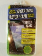 Shatter-Resistant Screen Guard iPhone Tempered Glass Bubble & Fingerprint Free