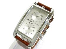 Auth HERMES Cape Cod dozone CC3-510 Silver 1793050 Women's Wrist Watch