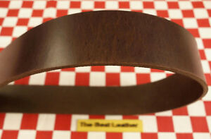 WAXY GRAIN BROWN HORSE LEATHER STRAPS, SELECT YOUR SIZE