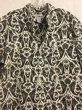 REYN SPOONER Men's LARGE Aloha Shirt KING FISH Design Prints