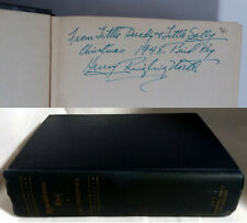Henry Ringling North Signed Book from Personal Library Remembrance Rock Sandburg