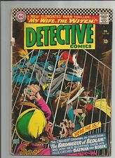 DETECTIVE COMICS #348 VG VERY GOOD OW/ WHITE PAGES SILVER AGE DC COMICS 1966