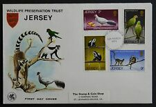 JERSEY FDC - WILDLIFE PRESERVATION TRUST - 12 March 1971 - Jersey